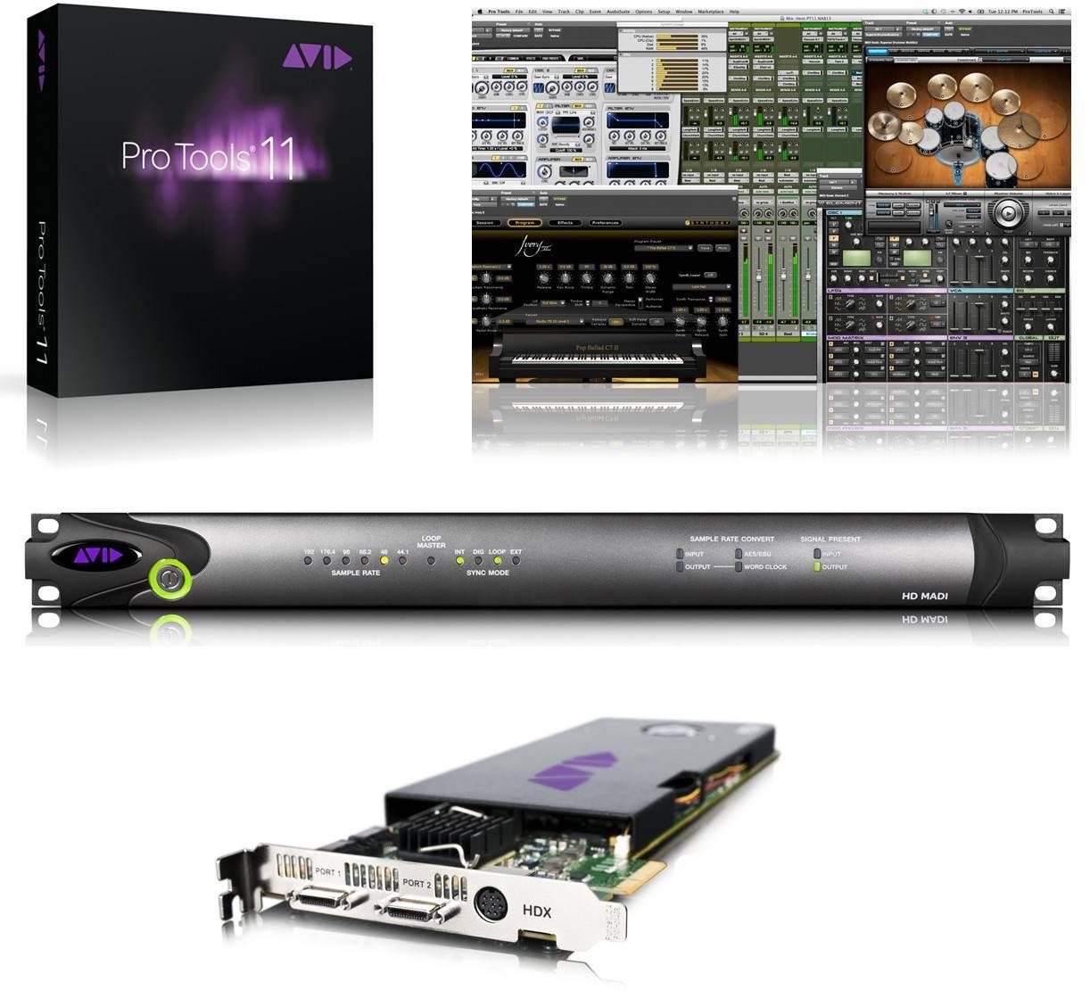 AVID HDX2 MADI System