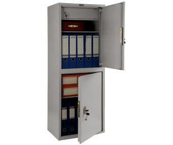 Шкаф бухгалтерский Практик SL-125/2T металлический