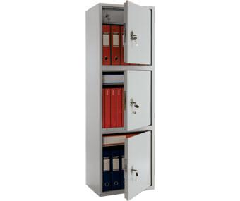 Шкаф бухгалтерский металлический Практик SL-150/3T