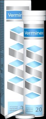 Verminex (Верминекс) - шипучие таблетки для борьбы с паразитами