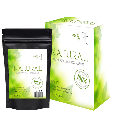 Natural Fit (Натурал Фит) - блокатор каллорий
