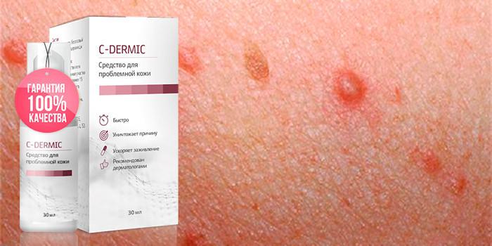 C-dermic (С-дермик) - средство от папиллом и бородавок