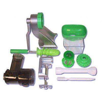 Z-Star Z‐710 - шнековая ручная соковыжималка Характеристики Для зелени