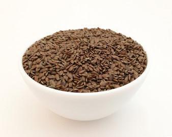 Семена льна - коричневый