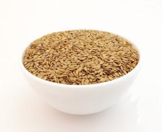 Семена золотого льна - белый