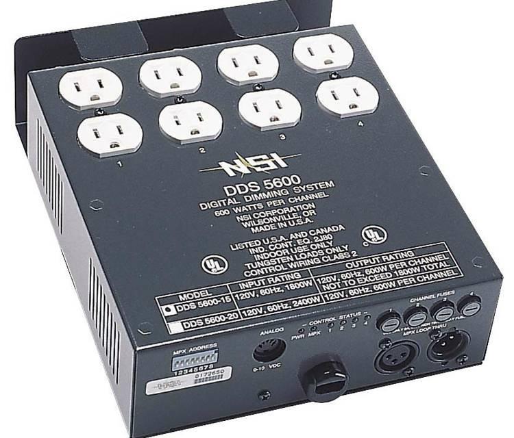NSI OPT 5512 DMX 512 KIT FOR DDS 5600. 6000+