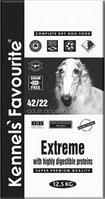 Сухой корм для спортивных, рабочих собак Kennels' Favourite Extreme (беззерновой)