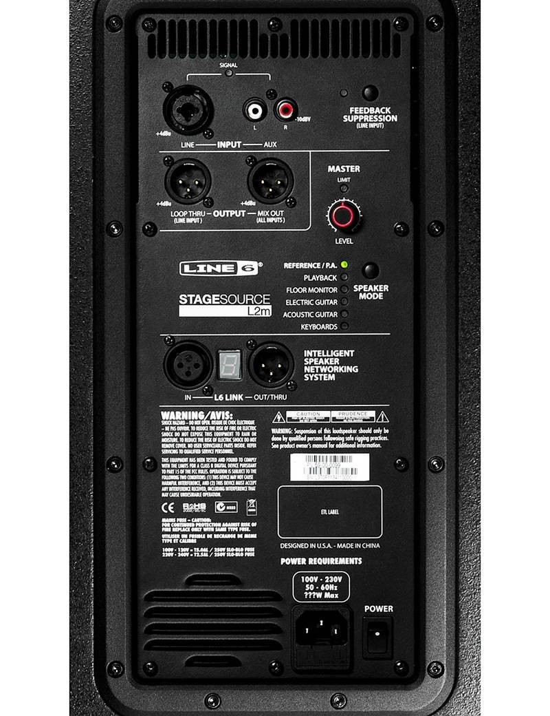 LINE 6 STAGESOURCE L2M