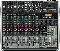 Behringer QX1832USB - микшер, 18 каналов, USB/аудио интерфейс, мик предусил и компр, 9 EQ, Multi FX, фото 1