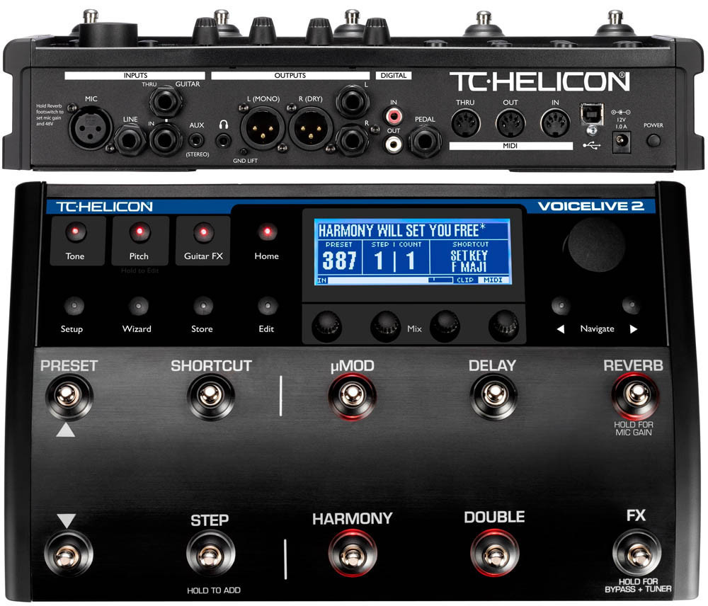 TC HELICON VoiceLive 2 with VLOOP