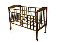 Детская кроватка Смирнов Женечка-1 (орех), фото 1