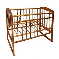 Детская кроватка Смирнов Женечка-3 (орех), фото 1