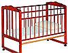 Детская кроватка Смирнов Женечка-3 (вишня)