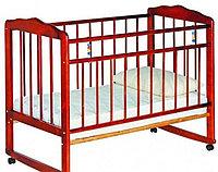 Детская кроватка Смирнов Женечка-3 (вишня), фото 1