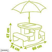 Детский столик для пикника с зонтиком, фото 1