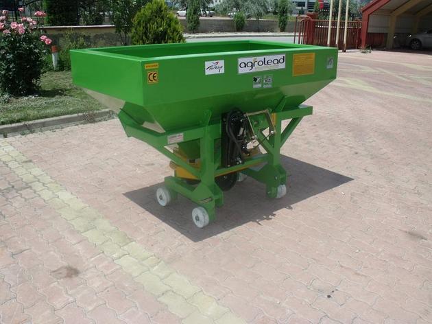 Разбрасыватель удобрений 500 литров, гидравлический, механический, фото 2