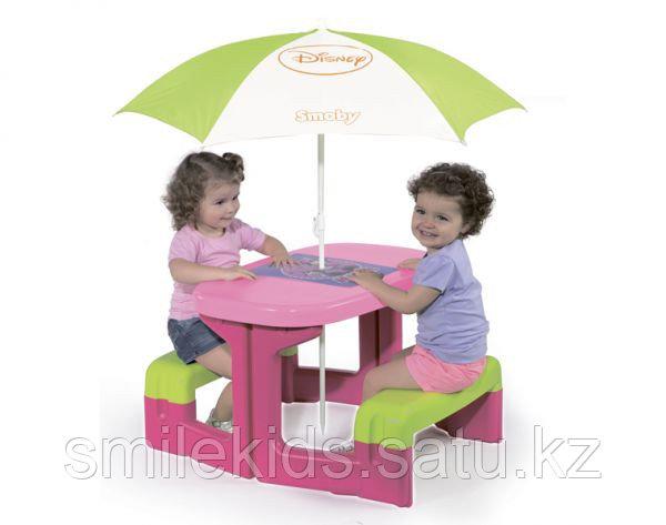 Столик для пикника с зонтиком Minnie
