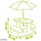 Столик для пикника с зонтиком Minnie, фото 3