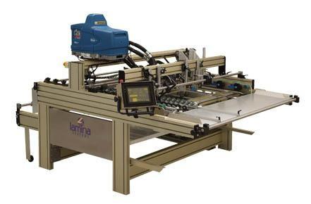 Lamina Gluer 1400 - фальце-склеивающий полуавтомат