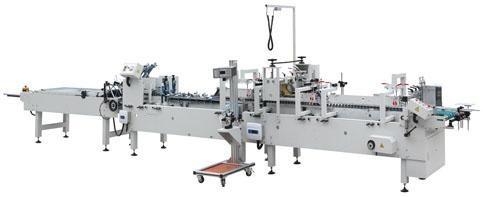 Автоматическая фальце-склеивающая машина на 4 точки SR-PACK-580D