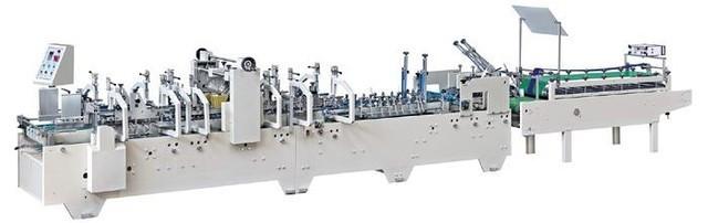 Автоматическая фальце-склеивающая машина на 3 точки  SR-PACK-800D