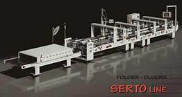 Фальцевально-склеивающая машина Versor SERTO 160