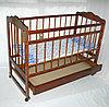 Детская кроватка Смирнов Женечка-4 (орех)