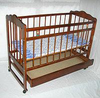 Детская кроватка Смирнов Женечка-4 (орех), фото 1