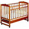 Детская кроватка Смирнов Женечка-4 (вишня)