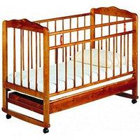 Детская кроватка Смирнов Женечка-4 (вишня), фото 1