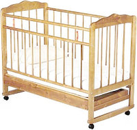 Детская кроватка Смирнов Женечка-4 (светлый), фото 1