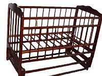Детская кроватка Смирнов Женечка-5 (вишня), фото 1