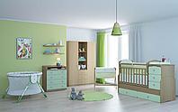 Детская кровать-трансформер Фея 2150 Кант (бук-оливковый) , фото 1