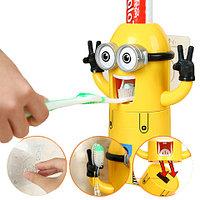 Дозатор зубной пасты с держателем зубных щёток «Миньон»