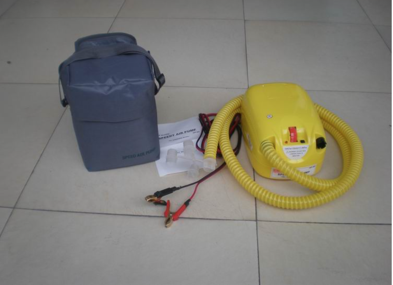 Электрический насос, для лодок высокого давления GP-80 для матрасов, бассейнов,