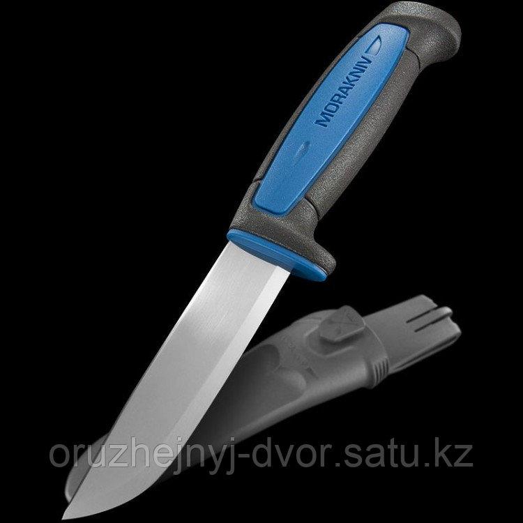Нож MORAkniv Pro S универс. нерж./ст., рез.ручка с синей вставкой (12242)