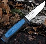 Нож MORAkniv Pro S универс. нерж./ст., рез.ручка с синей вставкой (12242), фото 2