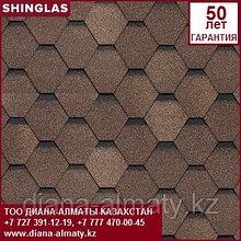 Битумная черепица Технониколь (Shinglas) Шинглас Ультра СБС модифицированная Самба Янтарь