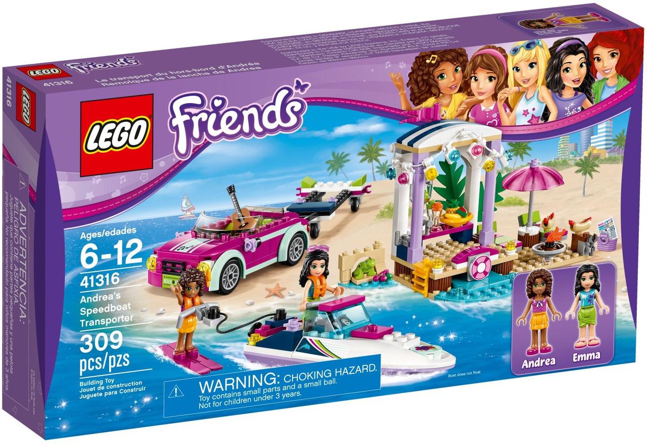 41316 Lego Friends Скоростной катер Андреа, Лего Подружки
