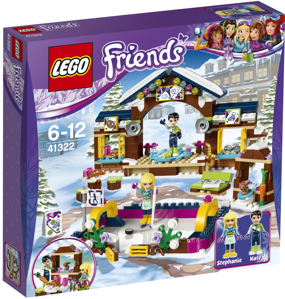 41322 Lego Friends Горнолыжный курорт: Каток, Лего Подружки