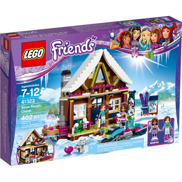41323 Lego Friends Горнолыжный курорт: Шале, Лего Подружки