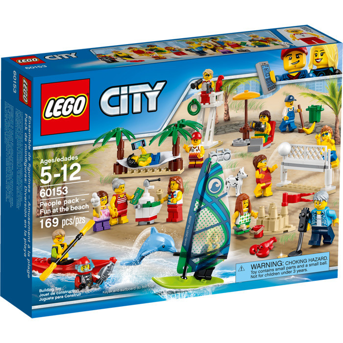 60153 Lego City Отдых на пляже - жители LEGO CITY, Лего Город