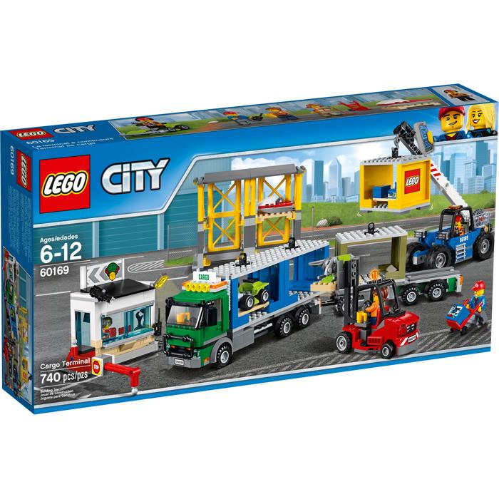 60169 Lego City Грузовой терминал, Лего Город