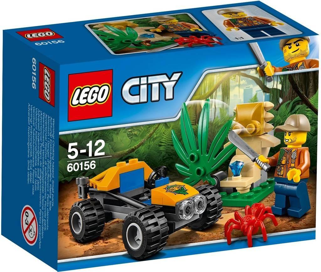 60156 Lego City Багги для поездок по джунглям, Лего Город