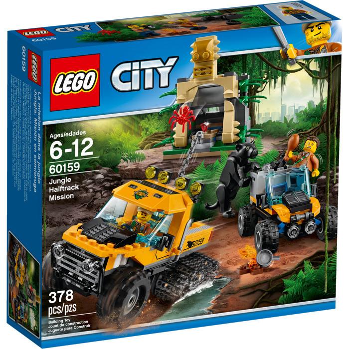 60159 Lego City Миссия Исследование джунглей, Лего Город