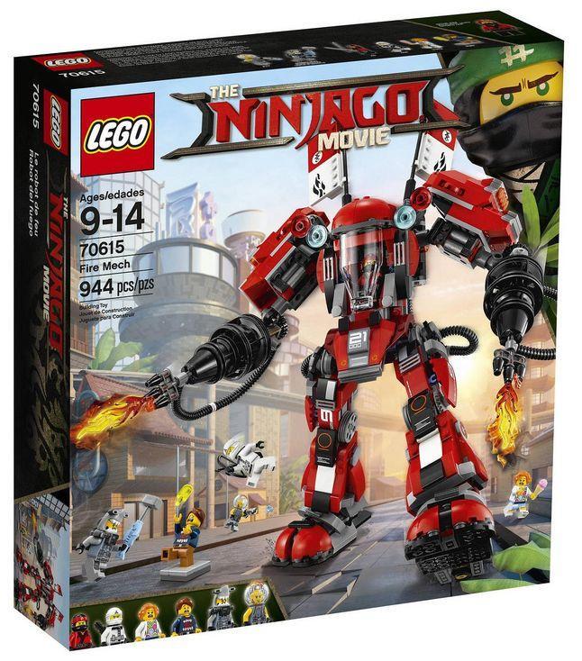 70615 Lego Ninjago Огненный робот Кая, Лего Ниндзяго