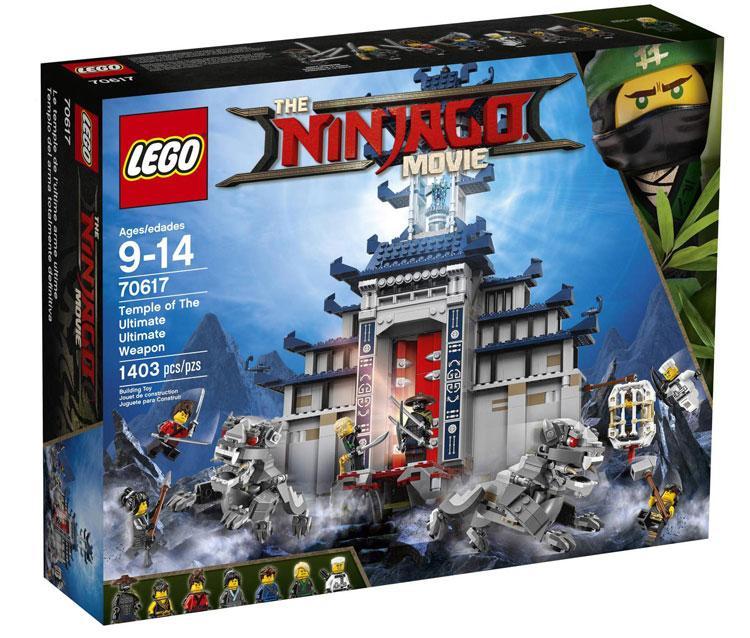 70617 Lego Ninjago Храм Последнего великого оружия, Лего Ниндзяго