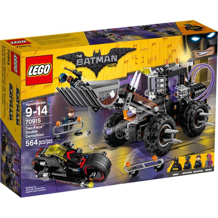 70915 Lego Лего Фильм: Бэтмен Разрушительное нападение Двуликого