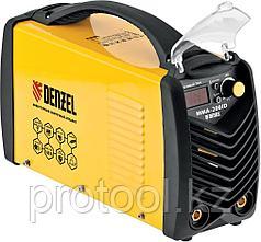 Аппарат инвертор. дуговой сварки ММА-200ID, 200 А, ПВР 60%, диам. эл.1,6-5мм, провод 2м// DENZEL