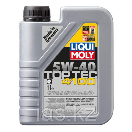 Моторное масло LIQUI MOLY TOP TEC 4100 5W-40 1 литр